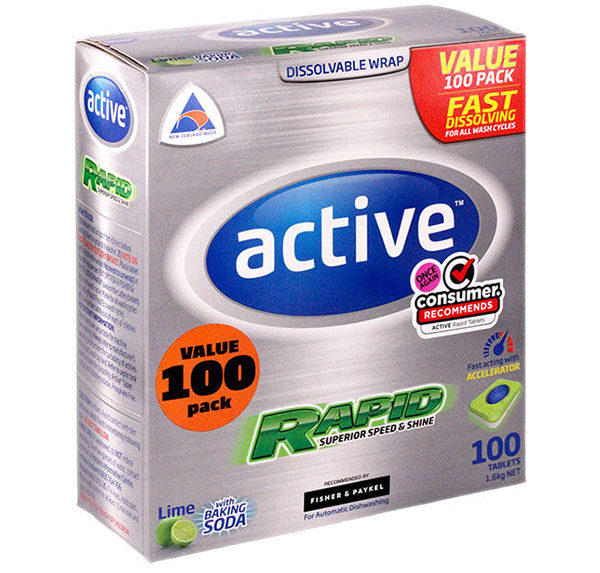 Active Tablets - Lime with baking soda