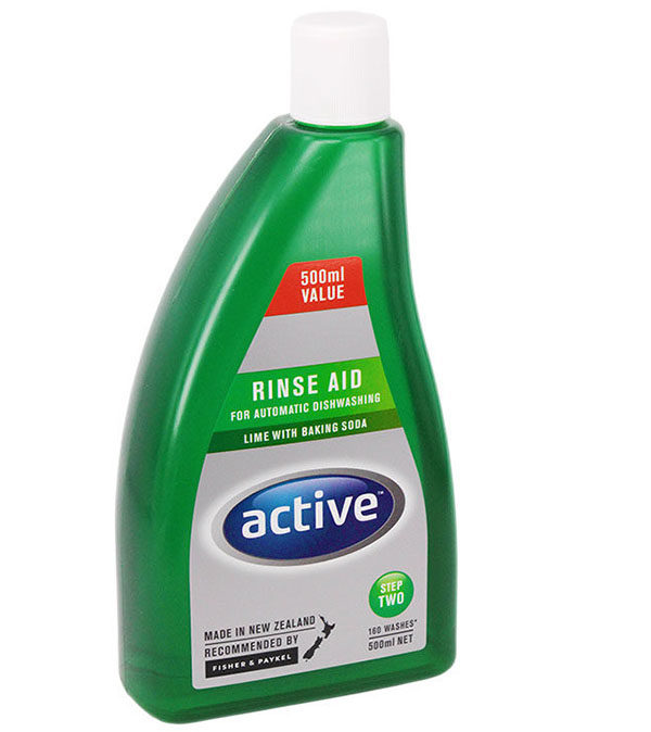 Active Rinse Aid - Lime with Baking Soda 500ml
