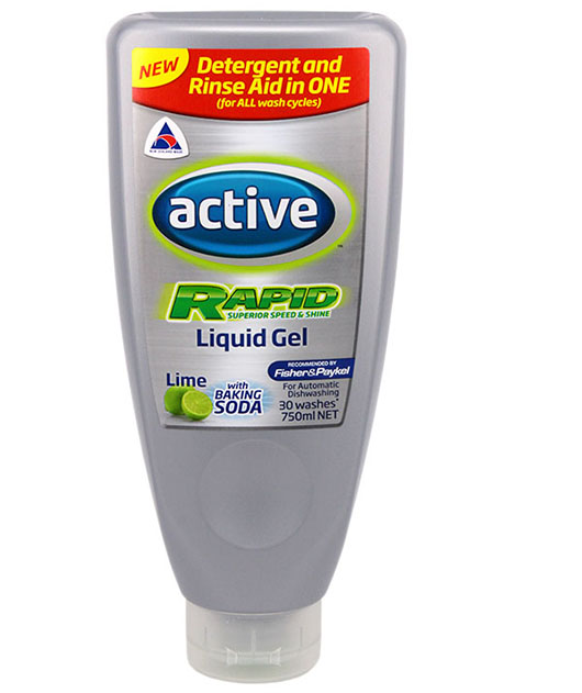 Active Rapid Liquid Gel - available in 30 wash or 60 wash bottles